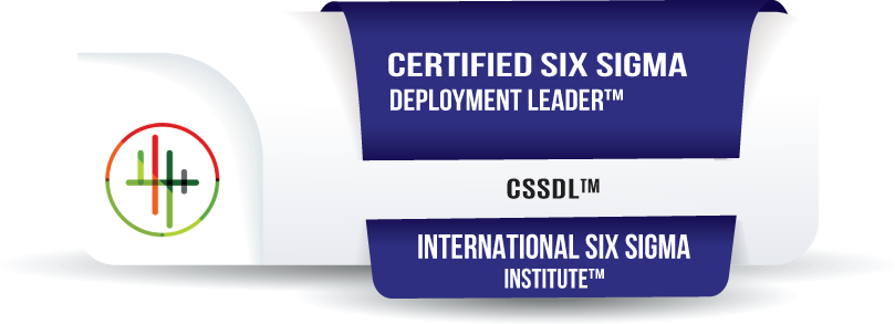 Certified Six Sigma Deployment Leader™ Certification (CSSDL™)