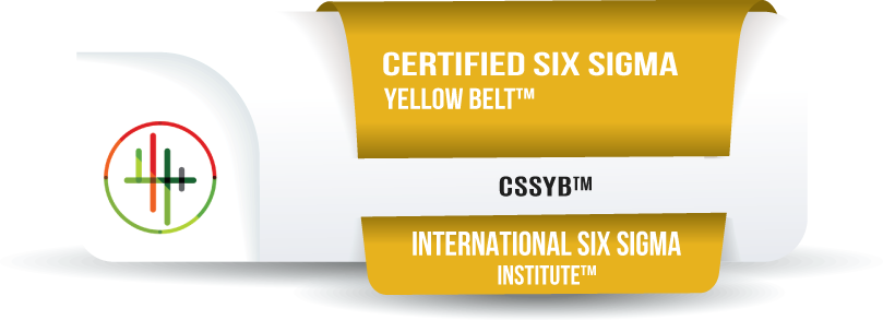 Certified Six Sigma Yellow Belt™ Certification (CSSYB™)